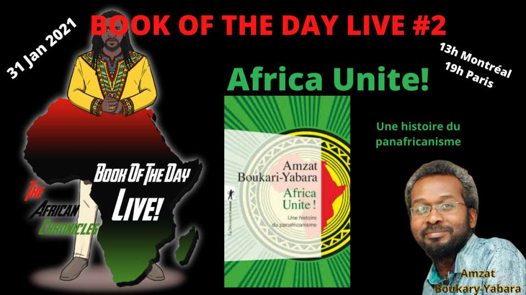 BOOK OF THE DAY LIVE # 2 Le 31 Janvier 2021