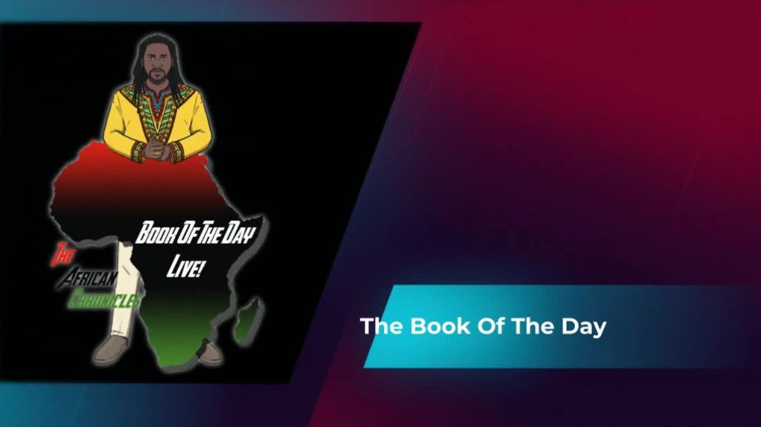 BOOK OF THE DAY LIVE #4 - The Miseducation Of The Negro. Teaser