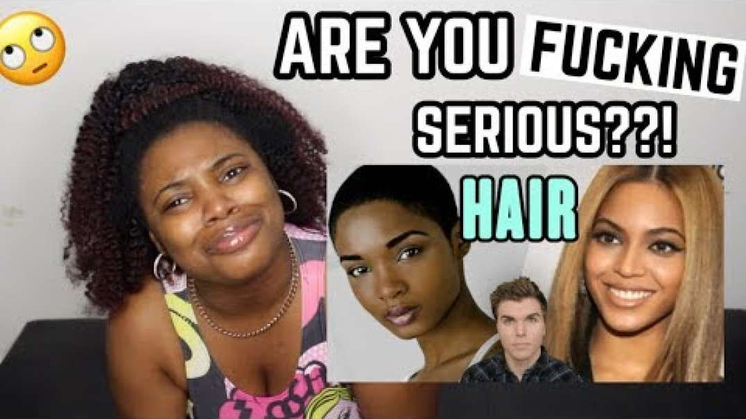 ONISION STFU PLEASE! - THE TRUTH ABOUT BLACK HAIR REACTION
