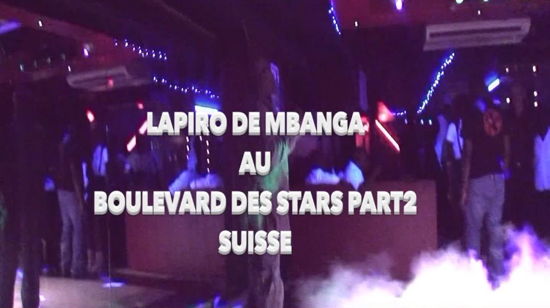 LAPIRO AU BOULEVARD DES STARS PART2 PAR JEAN JACQUES VIDEO