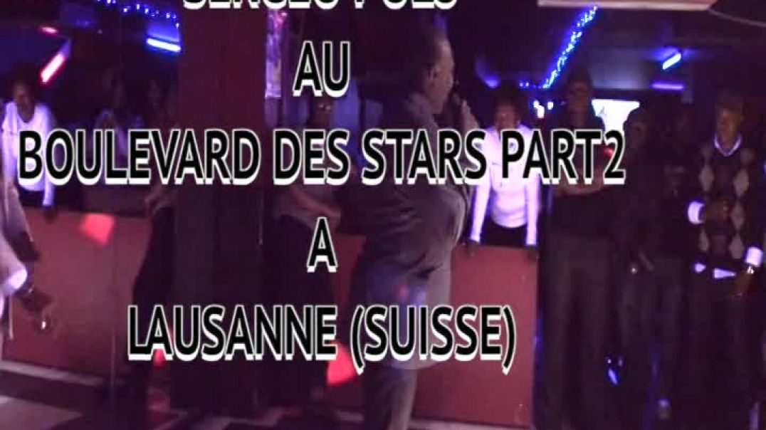 SERGEO POLO AU BOULEVARD DES STARS PART2  PAR JEAN JACQUES VIDEO