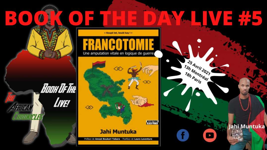 BOOK OF THE DAY LIVE! #5 - Teaser