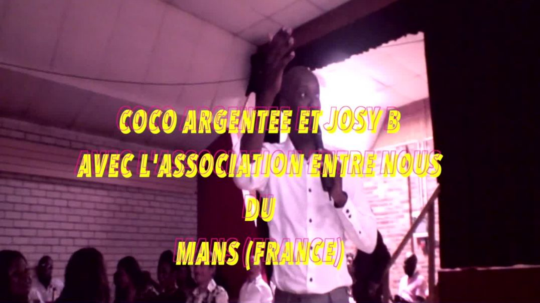 COCO ARGENTEE ET JOSY B AVEC L' ASSOCIATION ENTRE NOUS DU MANS PART2 PAR JEAN JACQUES VIDEO