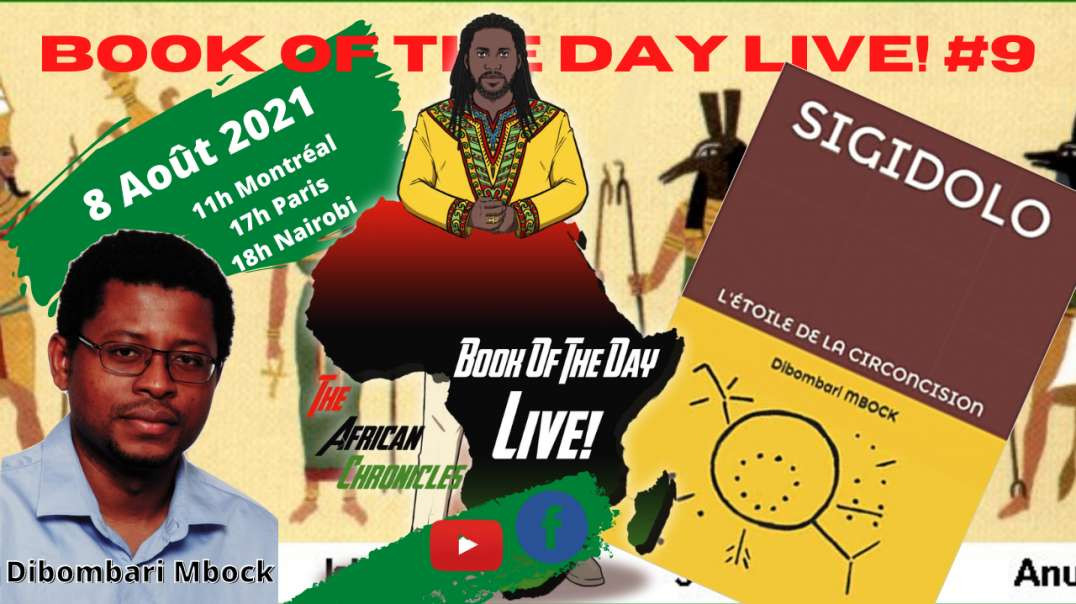 BOOK OF THE DAY LIVE! #9 - Teaser